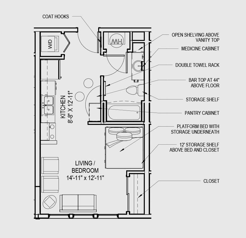 Cedarview Management Apartments: Studio And 1 Bedroom